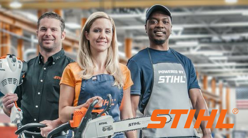 STIHL Workers with Products