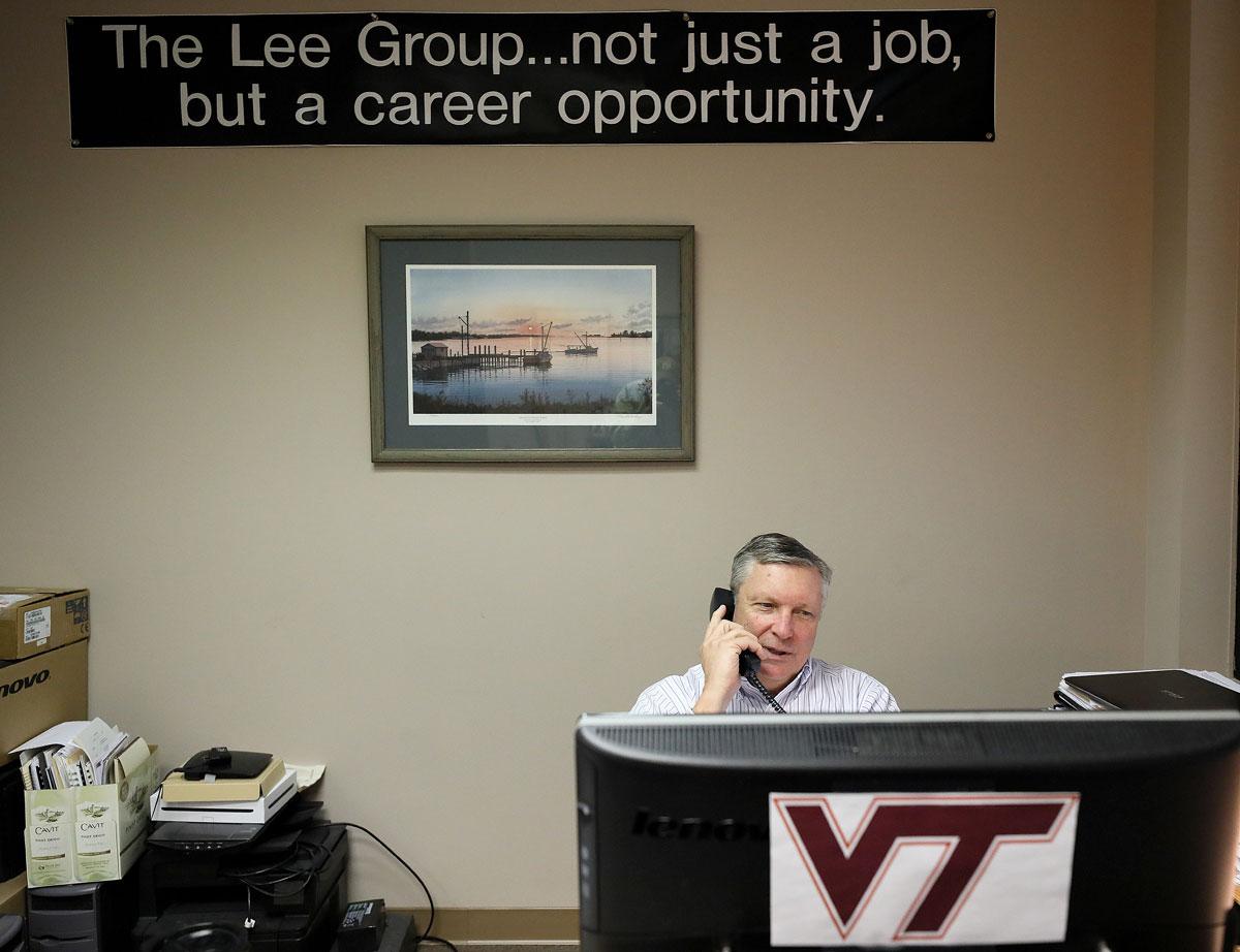Lee Group Chesapeake office. Walt Graham President